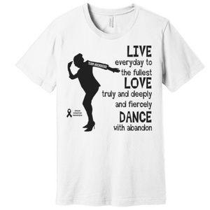 Unique Expression Apparel Tops - Unisex Dance TEAM ARCROSS82 Black Print Tee